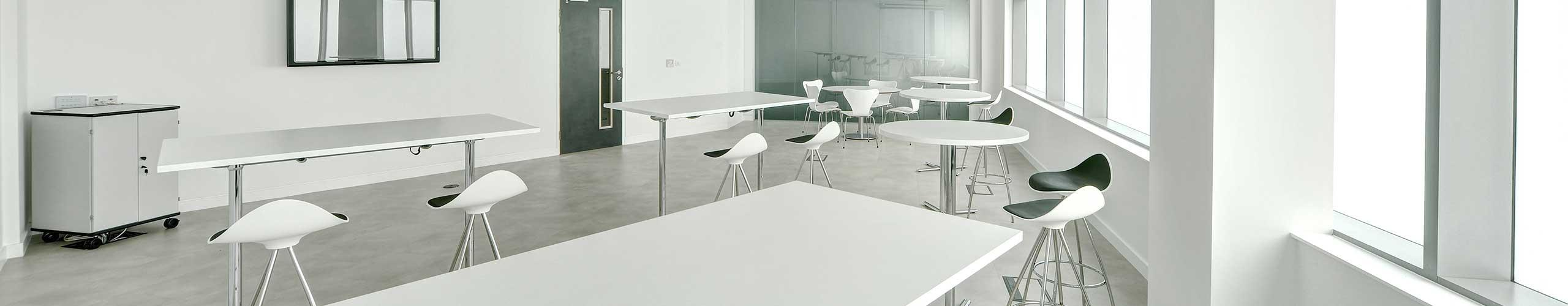 Mixed desks at the Northern Design Centre offices