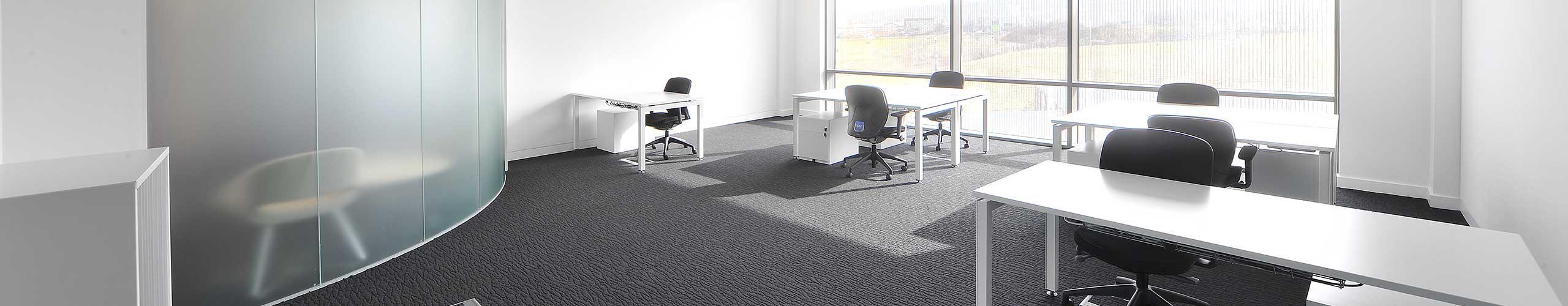 Rectangular desks at the Northern Design Centre